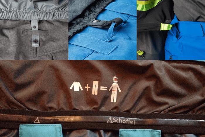 öltözködés síeléshez kabát nadrág kombi